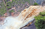 鲁甸震区面积最大堰塞湖险情已基本解除