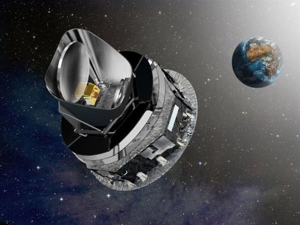 欧洲航天局绘制银河系磁场结构图:如梵高画作