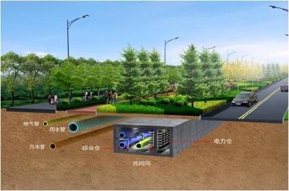 城市地下综合管廊 - 独上高楼 - 止于至善