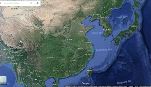 google 卫星地图