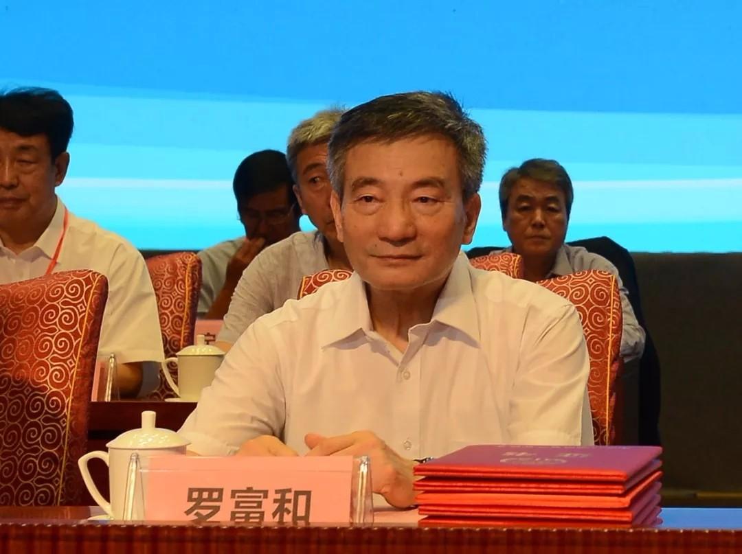 十二届全国政协副主席罗富和出席大会开幕式_2018中国地理信息产业大会_勘测联合网