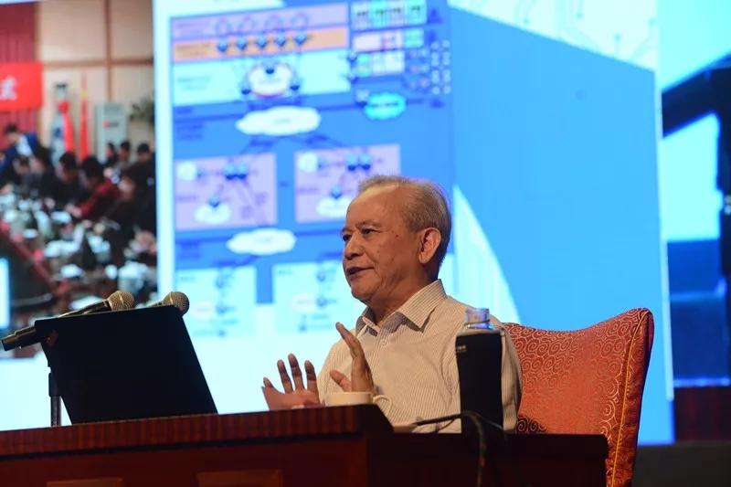 十二届全国政协副主席王钦敏出席大会开幕式并作特邀报告_2018中国地理信息产业大会_勘测联合网